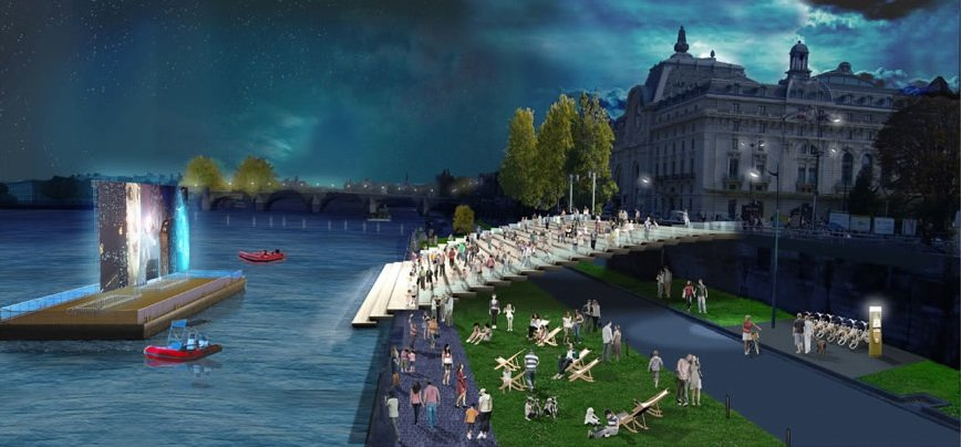 banks-of-the-seine-transformed-open-air-movies-paris-perfect-apartment-rentals