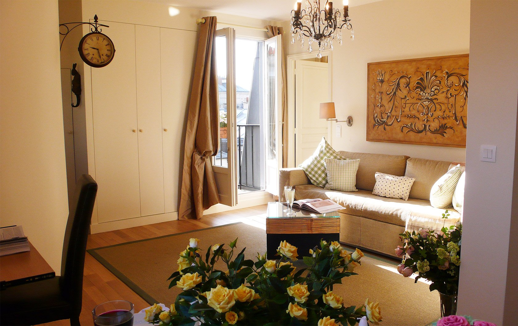 Charming One Bedroom Paris Apartment for Sale
