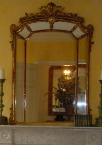Antique Gold Mirror Needs a Softer Look