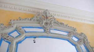 Rub off paint for antique effect
