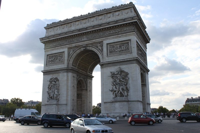 Visiting the Arc de Triomphe in Paris