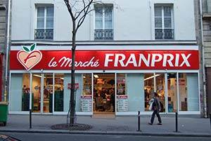 Franprix Supermarket in Paris