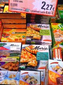 Huge range of frozen foods