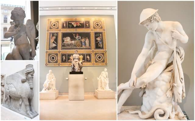 statues-musee-louvre-paris-france