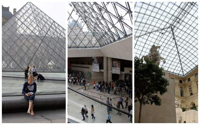 Visiting the Louvre Museum in Paris