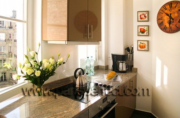 sunny-paris-kitchen-chocolate-lacquer-pink-granite-worktops-paris-perfect