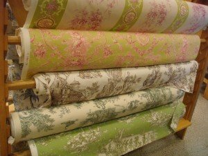 If you're looking for classic toile de jouy french fabric, Paris is the place
