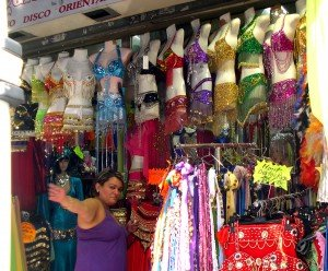Find belly dancing clothes and accessories too!