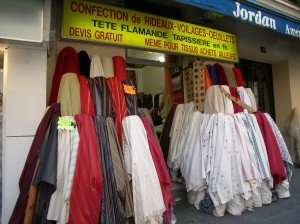 Fabric stores can recommend curtain makers nearby who will have them ready for the next day