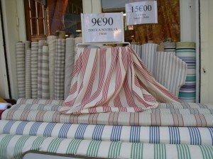 Bargain fabrics in Paris