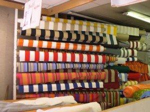 Cotton fabrics on rue de Steinkerque