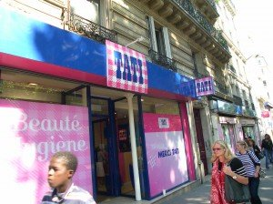 The Tati of some say 'tacky' discount stores in Paris are in the neighborhood