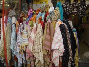 Silk fabrics in every color you could wish for at great prices in Paris