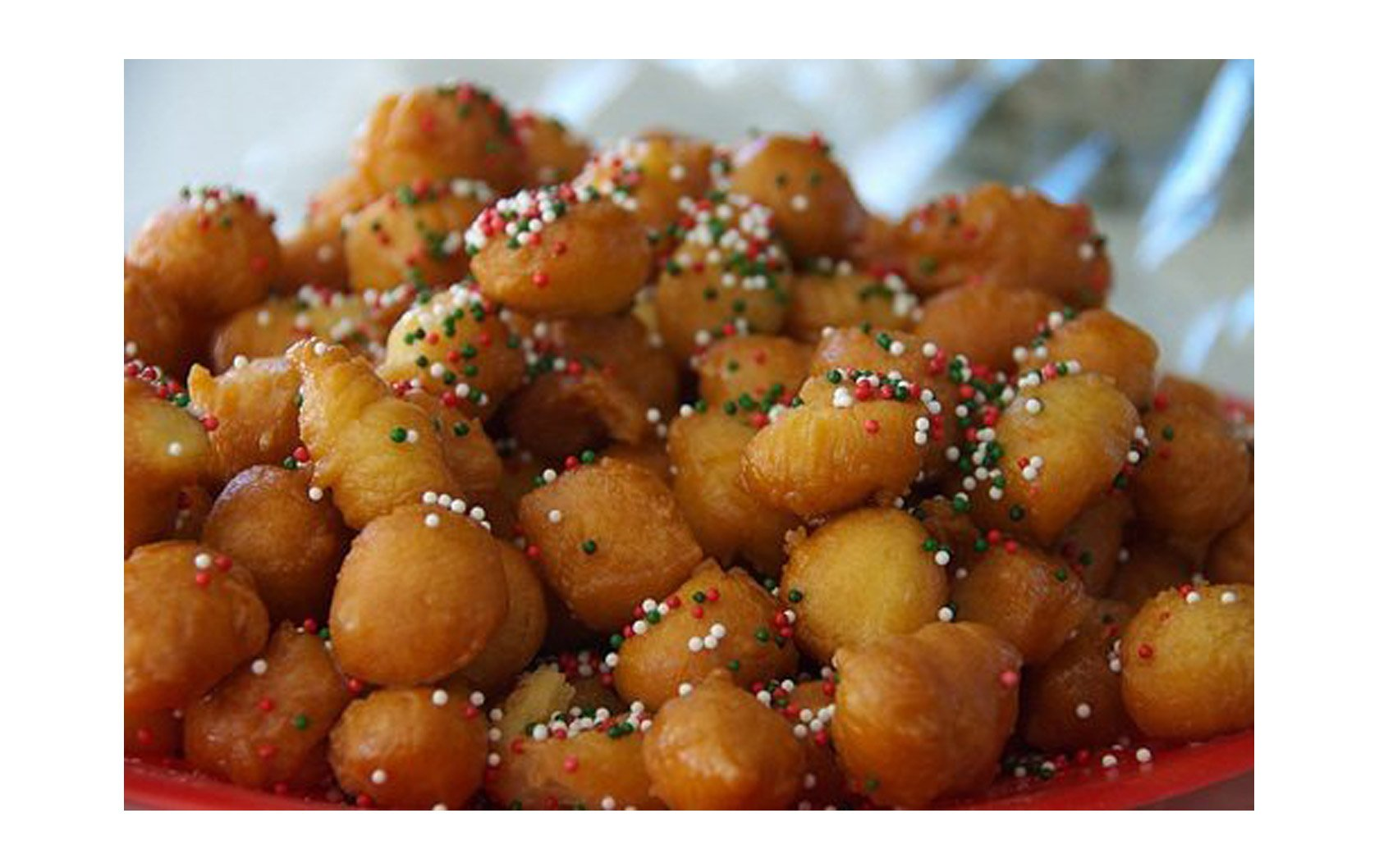 Recipe for Italian Christmas Struffoli