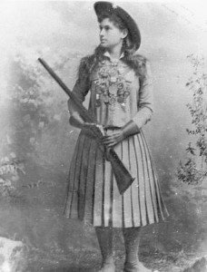 Annie Oakley was the star of Buffalo Bill's Wild West Show in Paris