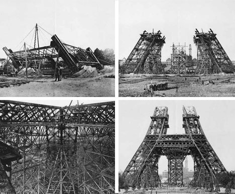 The Erection of the Eiffel Tower