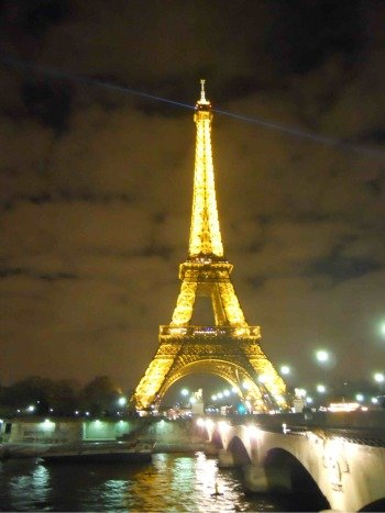 Eiffel Tower Seine Night Pictures on The Perfect Arrival In Paris    Paris Blog  Travel Blog  Travel Tips