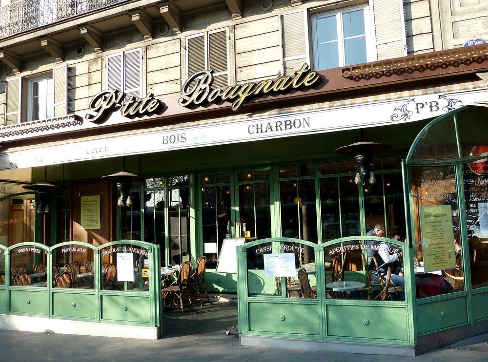Paris Local Cafes