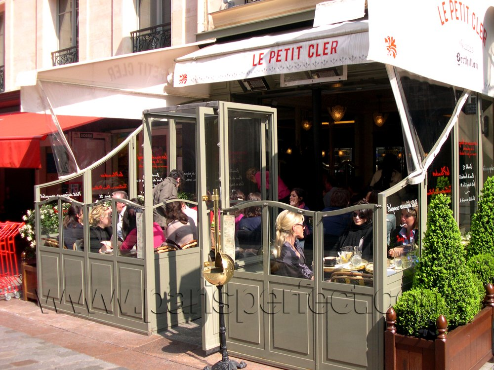 Le Petit Cler -- good cafe' and brasserie near the Eiffel Tower