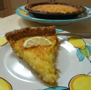 Recipe for my Favorite Lemon Tart; French Tarte au Citron