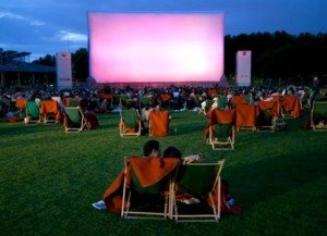 Movies at Paris Open Air Theatre