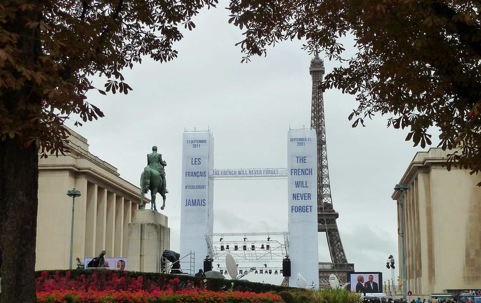 The French Will Never Forget: A Commemoration of 9/11 in Paris