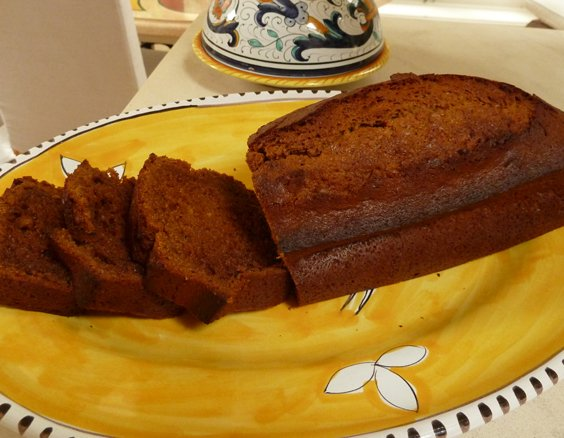 Recipe for Gingerbread Loaf