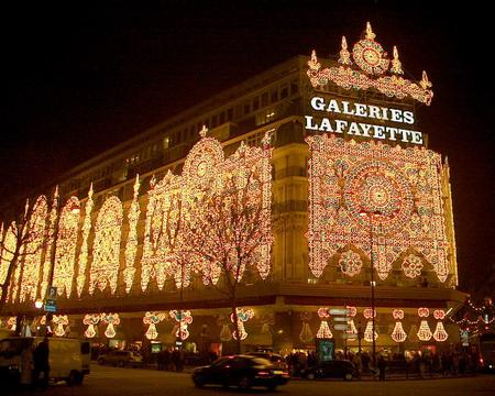 Christmas Shopping at Galeries Lafayette & Printemps in Paris