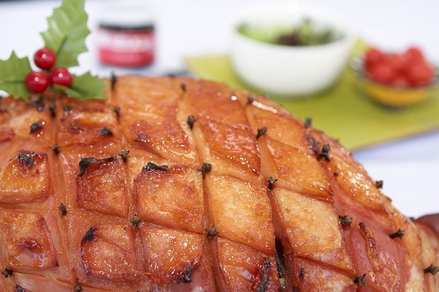 Glazed Christmas Ham