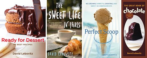 Books by David Lebovitz