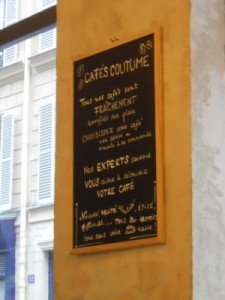 Coffee shop in Paris 7th arrondissement