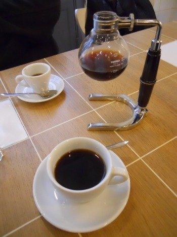 Italian espresso in Paris