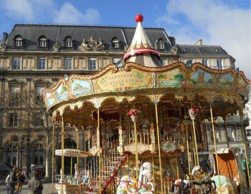 Hotel de Ville Winter Carousel
