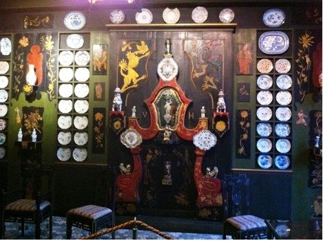 Chinese room in Victor Hugo Museum Paris