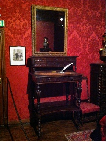 Victor Hugo Museum Writing Desk