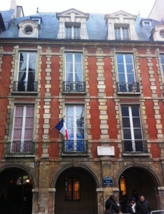 Victor Hugo Museum in Place des Vosges Paris