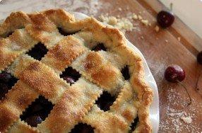 Recipe for Cherry & Ricotta Tart