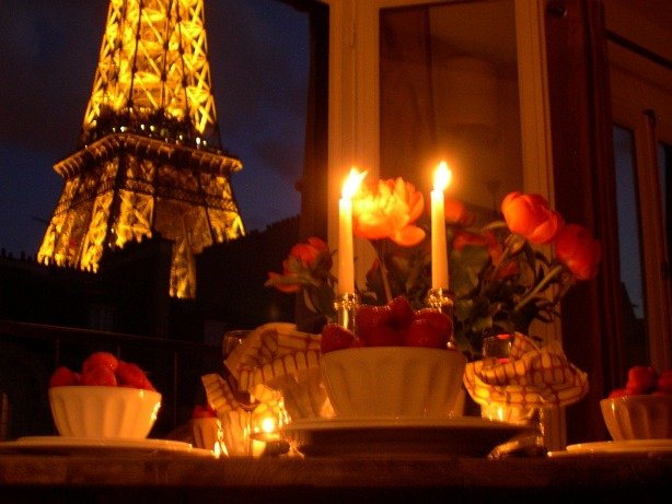 Romantic Paris apartment perfect for romance