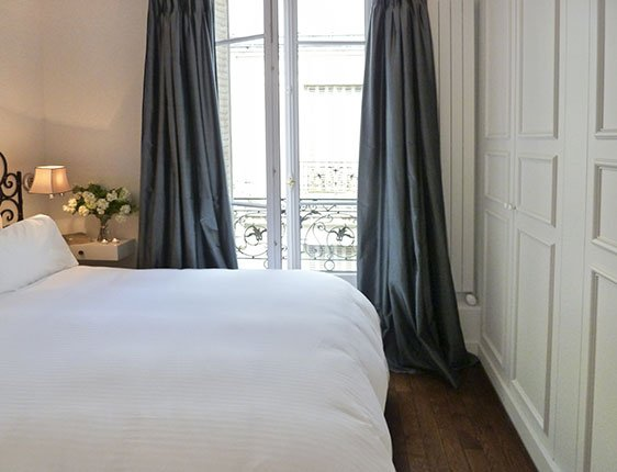 Paris vacation rental two bedroom