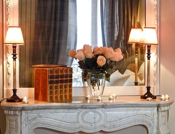 Romantic Paris apartment rental