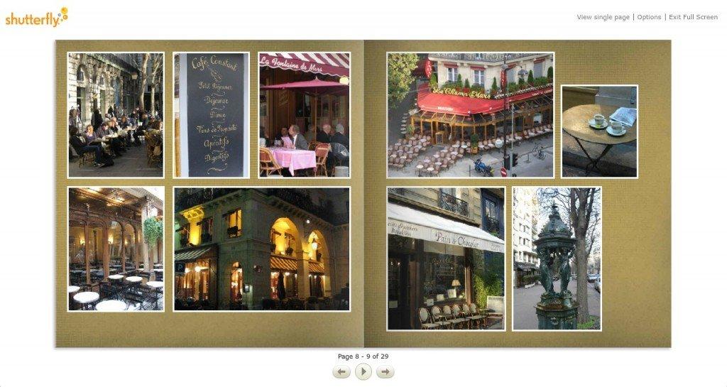 Paris Perfect Photo Album with Neighborhood