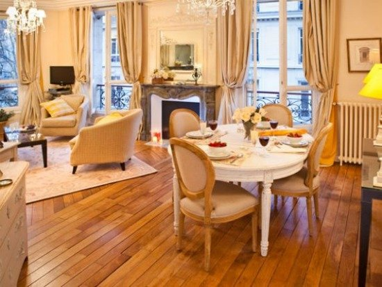 Easter Dinner in a Paris Perfect Apartment