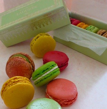 Macarons in Paris for Easter