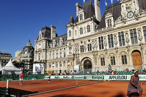 French Open in the City Paris France
