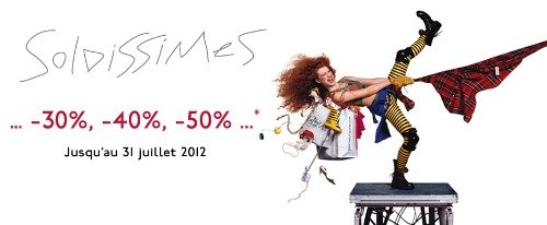 Summer Shopping Sales in Paris