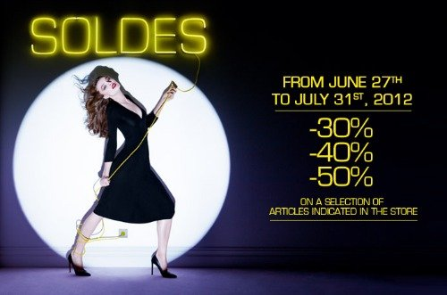 Shopping in Paris Summer Soldes Printemps Grand Magasins