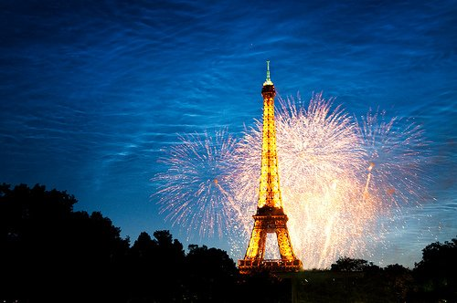 Celebrating Bastille Day in Paris