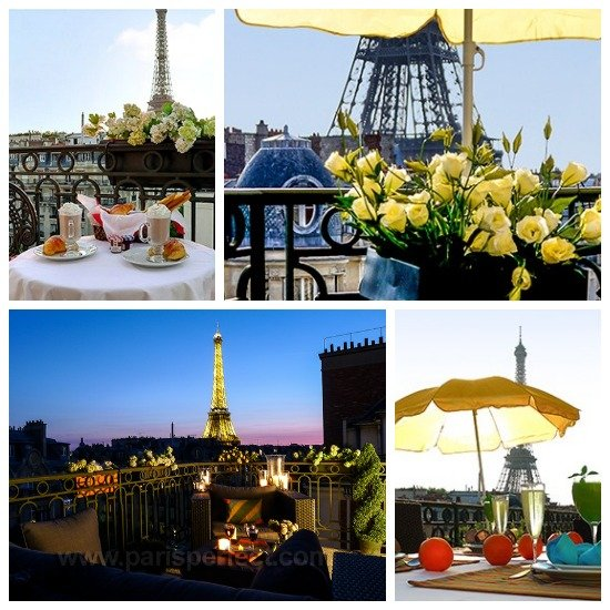 Paris Perfect Margaux Vacation Rental Balcony Views
