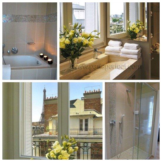 Paris Perfect Margaux Vacation Rental Master Bathroom