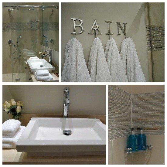 Paris Perfect Margaux Vacation Rental Second Bathroom